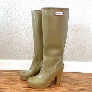 Hunter   ULTRA RARE! Lonny Rain Boots Size 7